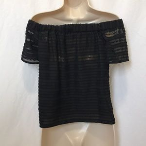 1. State Tops - 1. State Size XXS Off the Shoulder Top